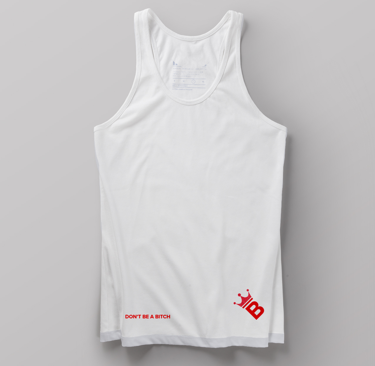 oncue unisex tank top mock up quilan arnold